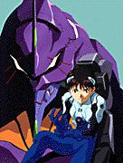 Shinji et son Eva